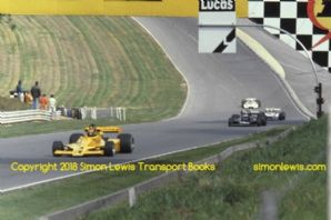 Lotus 78 (Vilotta) Wolf WR6 (Kennedy) March 792,  Chevron B41.  Brands Hatch Aurora F1 1979